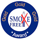 Gold Smoke Free Award - Red Oaks Primary School